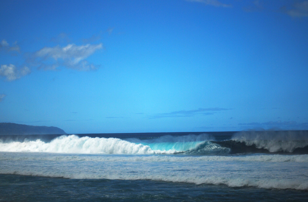 Surf on the North Shore of Oahu